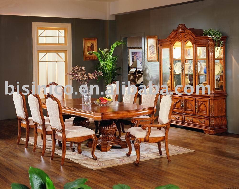 Muebles De Comedor Antiguos : Madera maciza y de la mano talla americana muebles