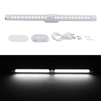 LED Cabinet Light Motion Sensor Kitchen Bedroom LED Closet Lighting Rechargeable Wireless Magnetic Wardrobe Light