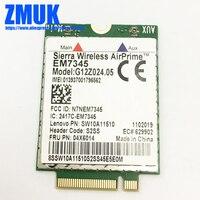 EM7345 4G WWAN Card For Lenovo Thinkpad X1 CARBON X240 X250 L540 T440 T440P T440S T450 T450S T540P T550 W540 Series,P/N 04X6014