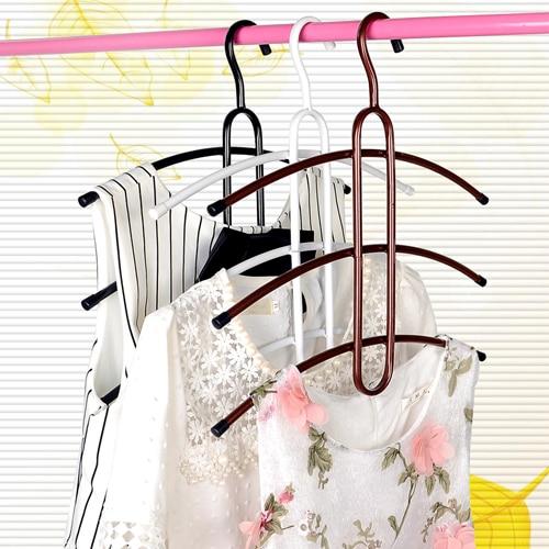 Multifunctional hanger racks multilayer clothing store hanging clothes multifunctional wardrobe storage
