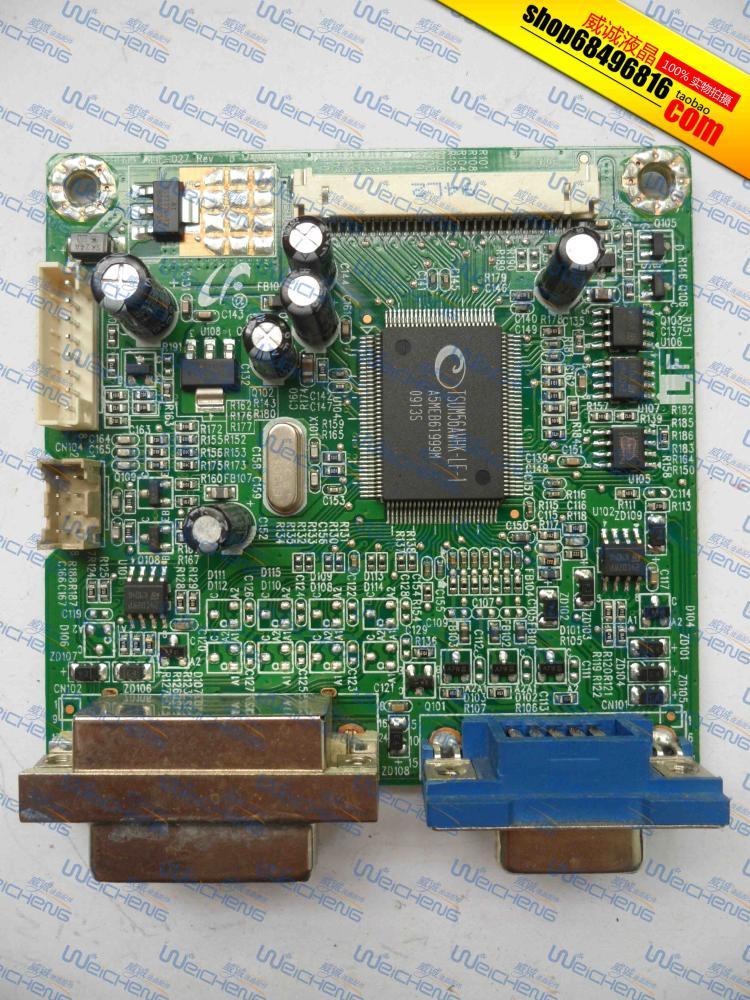Free shipping W1907 driver board W1907 font b motherboard b font 490481300600R