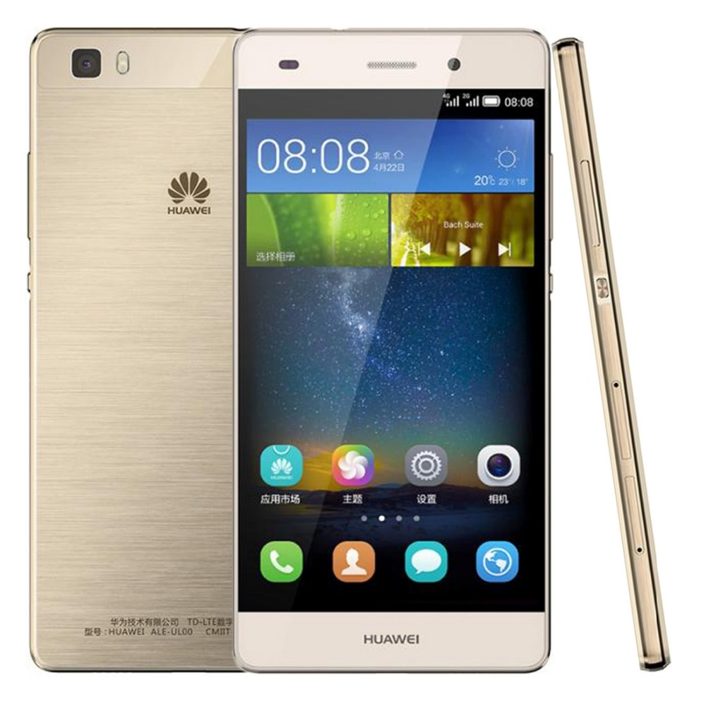 Huawei P8 Lite / ALE-UL00 5.0 inch TFT Android 5.0 Smart Phone Hisilicon Kirin 620 Octa Core 1.2GHz ROM 16GB RAM 2GB 4G LTE