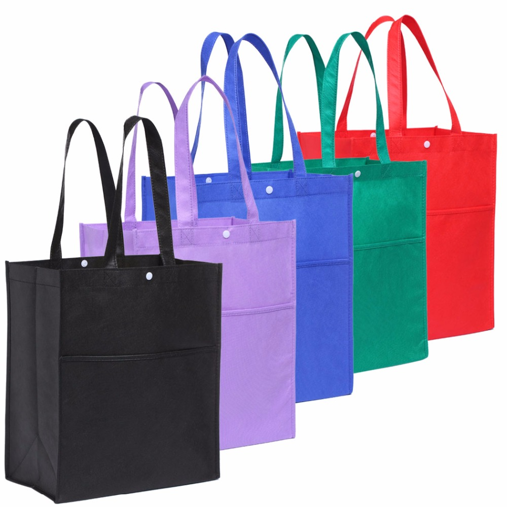 5pcs/lot Bag Wholesale Eco Shopping Bag Reusable Cloth Fabric Grocery Packing Recyclable Hight Design Healthy Tote Handbag bag wholesale eco reusable shopping bags cloth fabric grocery packing recyclable hight simple design healthy tote handbag trendy