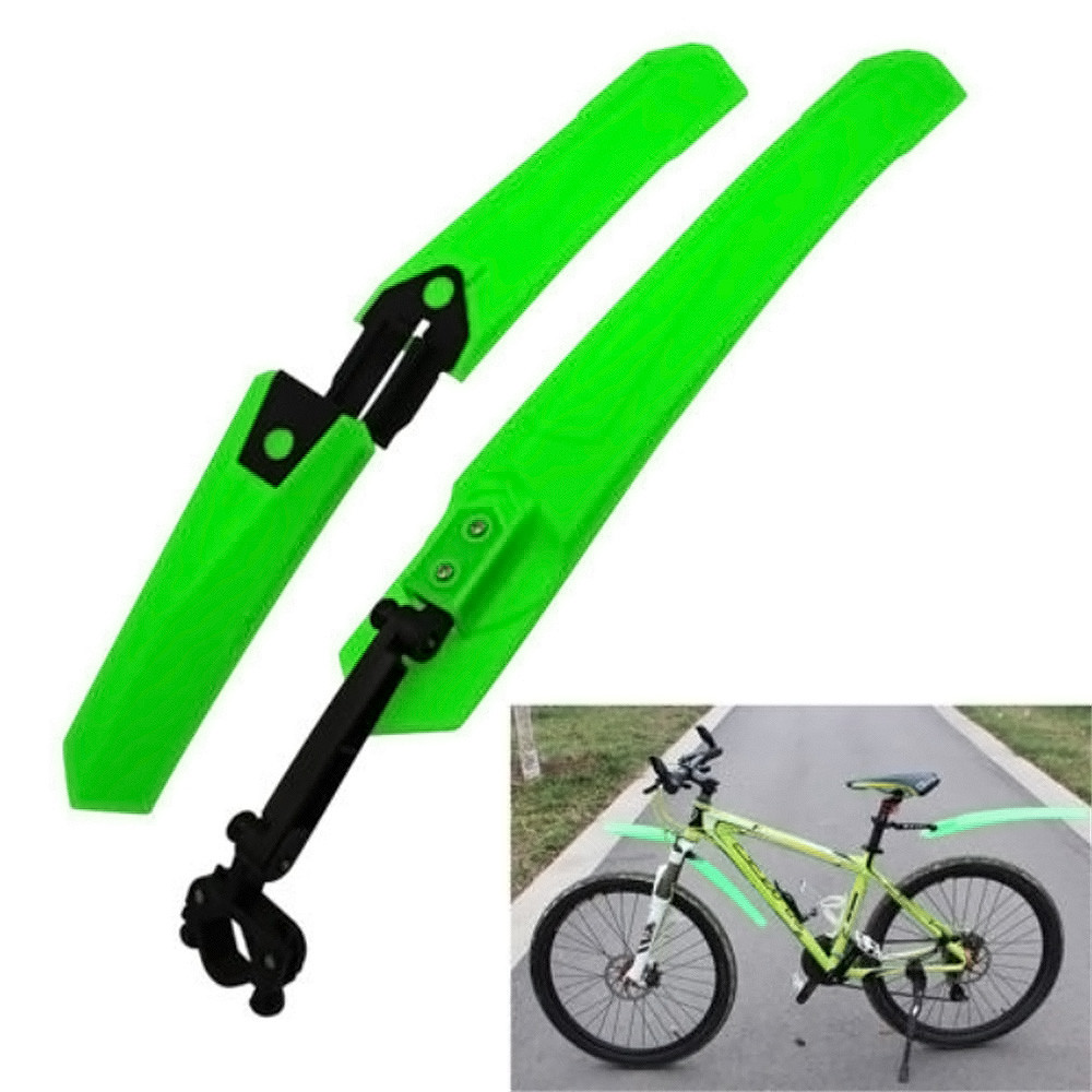 Mountain Bike Cycling Bicycle Bike Front Rear Mud Guards Mudguard Fenders Set #2A22 #F