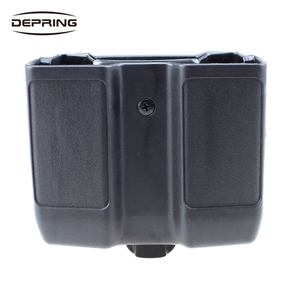 Quick Single Stack Mag Pouch Carrier Dual Magazine Holster for .45 ACP 1911 Magazine image