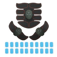 # Abdominal Muscle Trainer Fitness Buttock Shape Builder Massage Stimulator Electric Muscle Training Abdominal Slimming Machine skin care electric abdominal muscle trainer body massage fit training exercise abdominal muscles loss slimming abdomen set tool