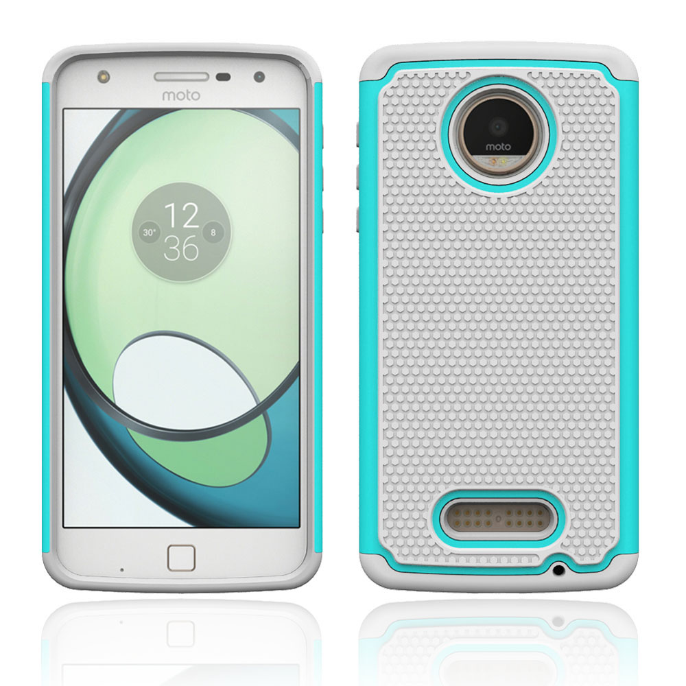 low priced 98364 22fa5 US $2.54 15% OFF|For Motorola Moto Z Play Armor Case Hybrid Shockproof  Impact Cover Silicone Phone Cases For Motorola Moto Z Play Droid @-in  Fitted ...