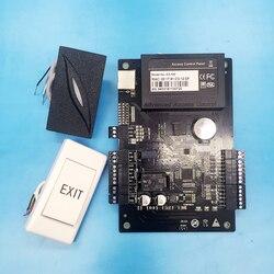 Wysokiej jakości System kontroli dostępu z C3 100 jeden drzwi dwa stronę kontroli dostępu Panel + 1 PC 125 khz czytnik RFID 1 PC przycisk wyjścia w Zestawy do kontroli dostępu od Bezpieczeństwo i ochrona na