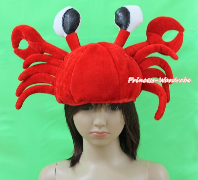 Winter Funny Cute Ocean Sea Red Crab Child Party Costume Mask Cap Headgear WarmHat Unisex  sc 1 st  Aliexpress & Online Shop Winter Funny Cute Ocean Sea Red Crab Child Party Costume ...