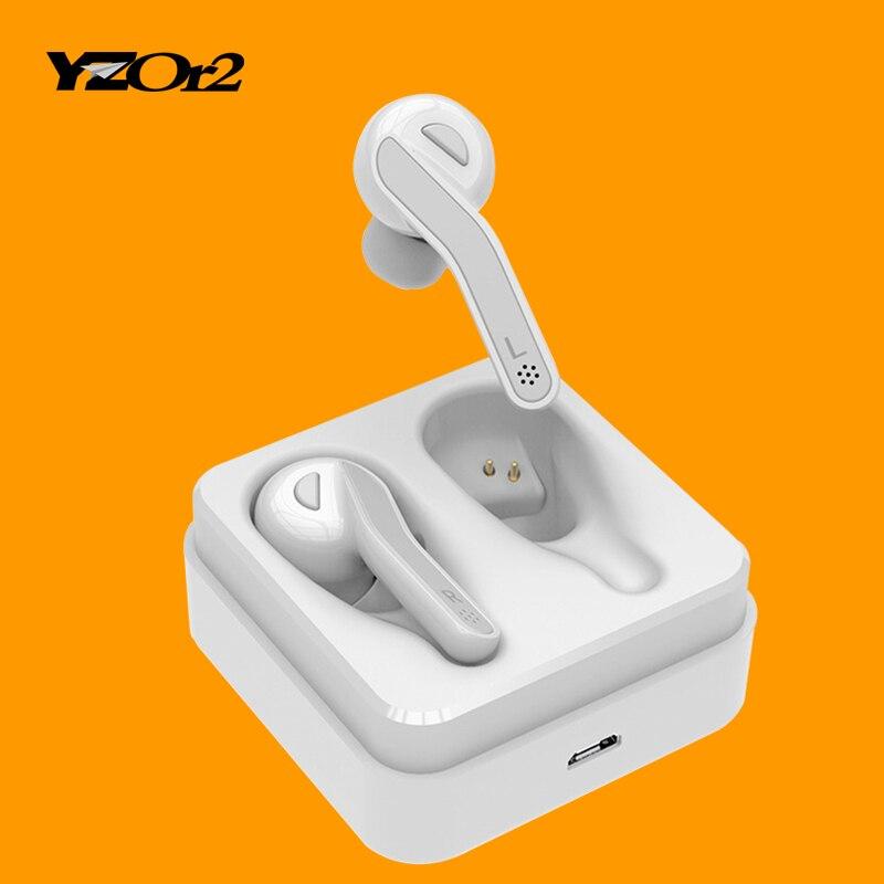 Últimas 5,0 auricular Bluetooth auricular inalámbrico auriculares HIFI auriculares con micrófono para teléfono Samsung Xiaomi auriculares