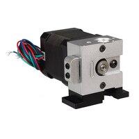 3D yazıcı ile uyumlu uzaktan doğrudan Bulldog ekstruder kiti E3D J-kafa MK8 ekstruder sıcak end için destek 1.75mm/3mm filament