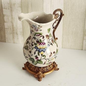 Creative ceramic vase European style home decoration Vase  Decoration new room living room decoration