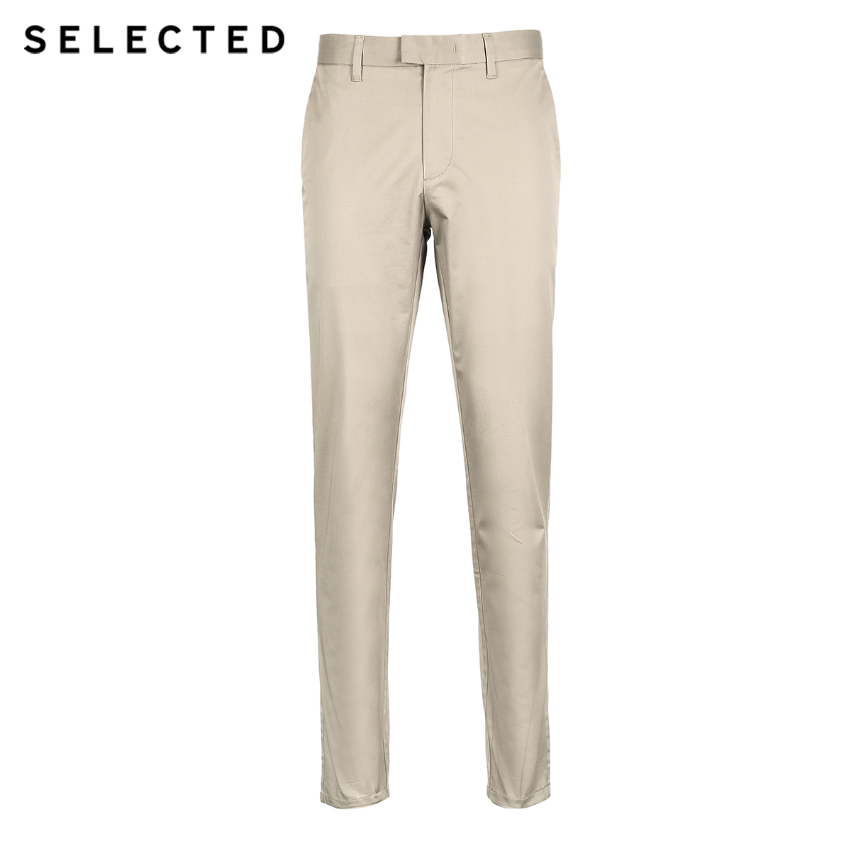 SELECTED autumn new men's Micro bomb pure color, body wash, casual pants S|418314529