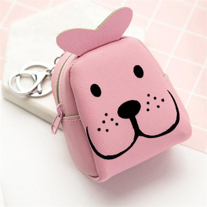Popular Women Girls Cute Fashion Snacks Dog Characters Coin Purse Wallet Bag Change Pouch Key Holder monederos mujer monedas women girls cute fashion snacks coin purse wallet bag change pouch key holder best gift wholesale apr25