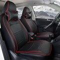 Для Toyota RAV4 автомобильные аксессуары чехлы & поддержка полный набор черный пу кожаный чехол сиденья протектор декоративные подушки сиденья