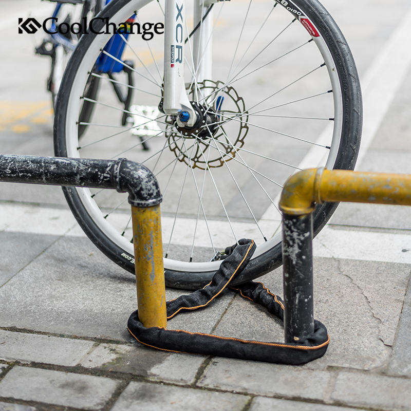 Cool Change Bicycle Lock Safe Metal Anti-Theft Outdoor Bike Chain Locks/'