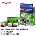 4 шт./компл. DENSO автомобильная свеча зажигания для BMW 316ti E46 316i E46 318i E30/E36 318i E36 318is E36 Иридий-Платина IK20TT
