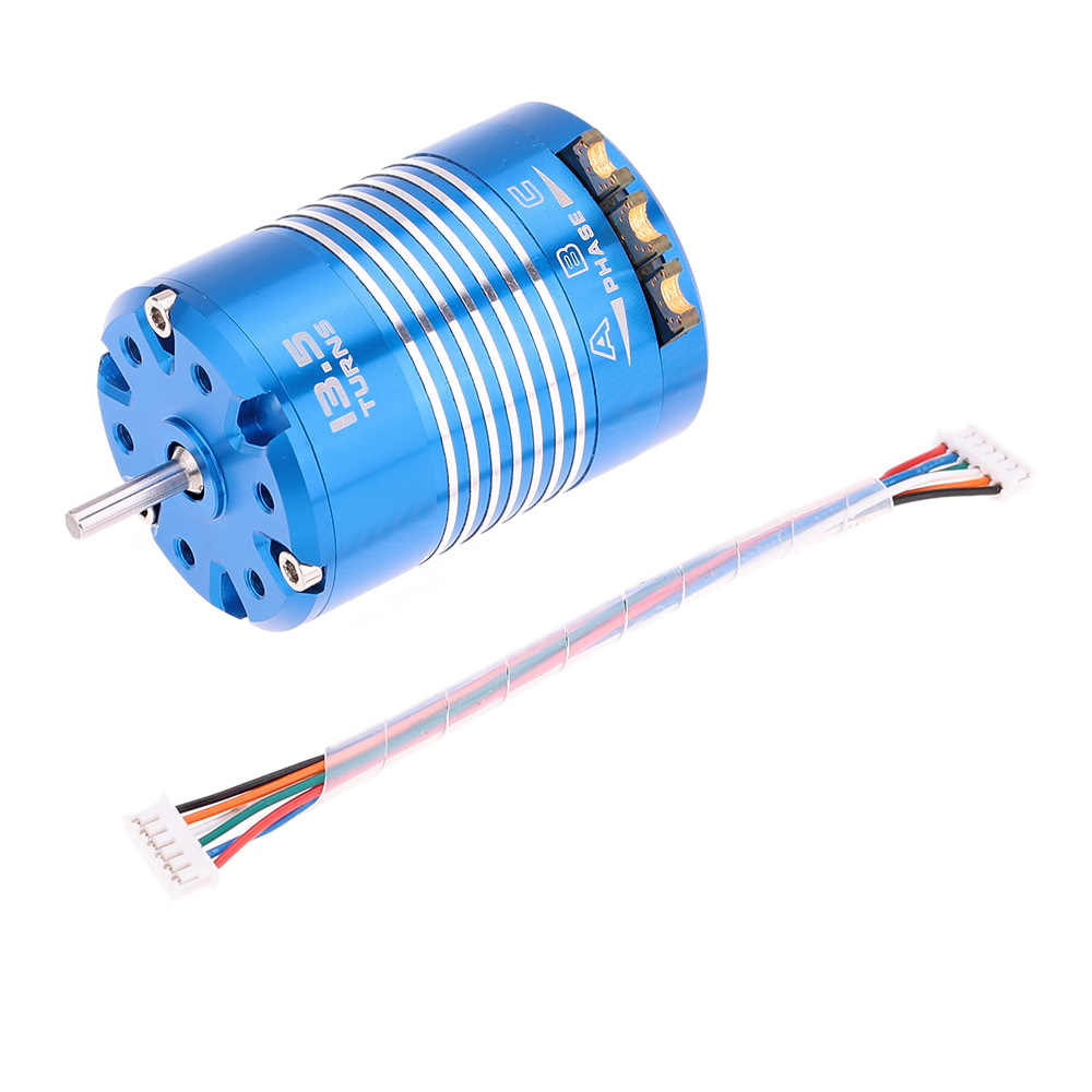 1/10 T 13,5 T Sensored Brushless Motor para 540 RC coche Auto camión