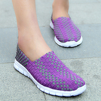 Women Vulcanize Shoes lightweight Soft Casual Shoes Woman Slip on Shallow Breathable Flat Casual Shoes Woman Plus Size