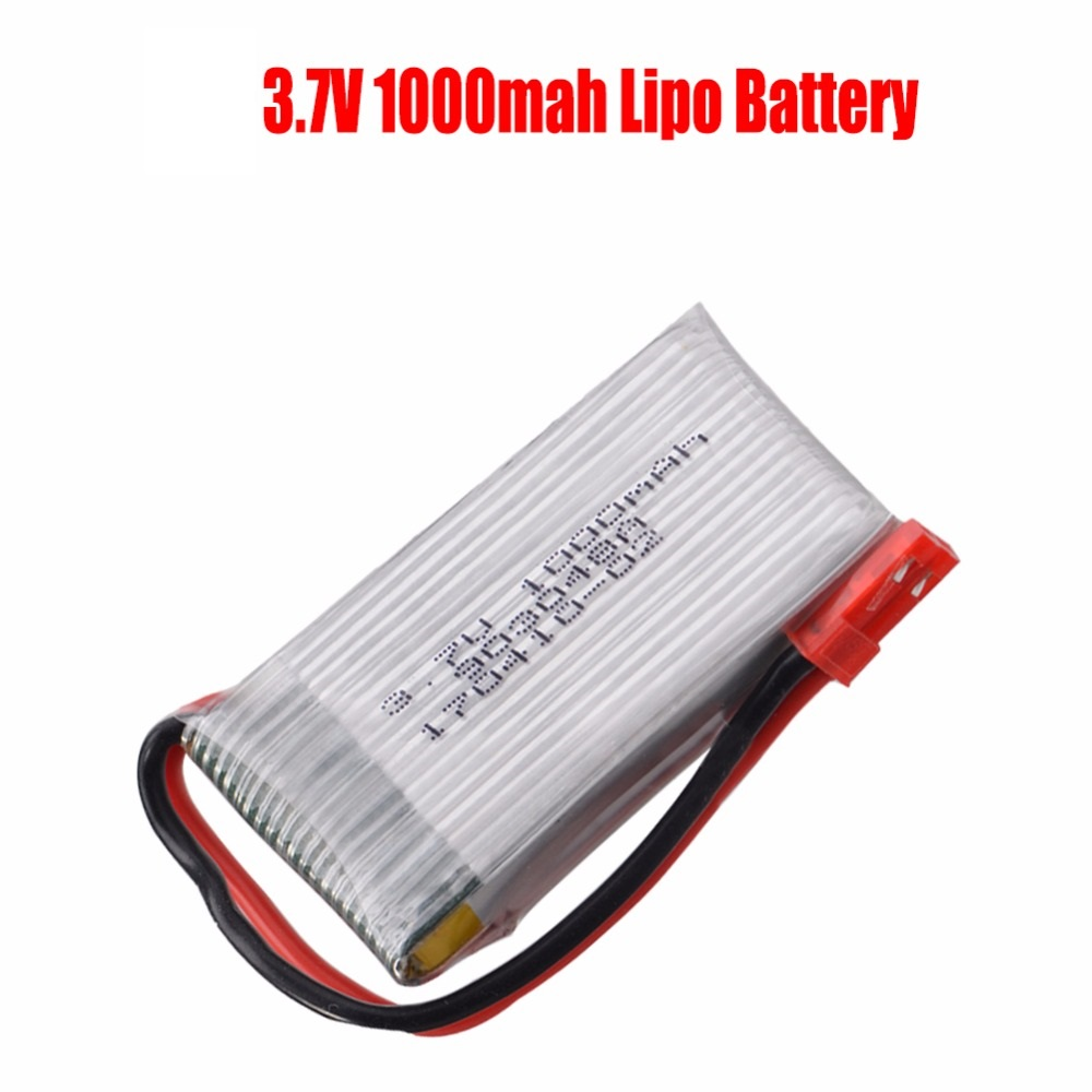 GTFDR H11D 3.7v Lipo battery 1000mah JST batteries For JJRC H11WH H11D H11C HQ898 RC Quadcopter drone Part wholesale image