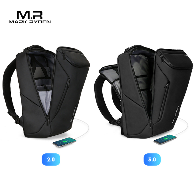 Mark Ryden 2019 New Anti-thief Fashion Men Backpack for school