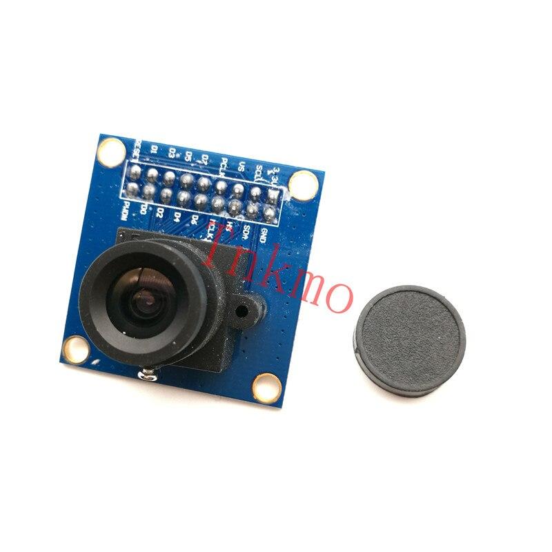 1PCS OV7670 VGA Camera Module Lens CMOS 640X480 SCCB w/ I2C Interface Auto Exposure Control Display Active For Arduino