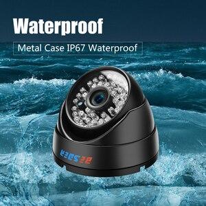 Image 3 - BESDER Wide Angle 2.8mm Vandal Proof 1080P IP Camera Dome Waterproof 48 PCS IR LED Indoor Outdoor Network IP Camera IR Cut ONVIF