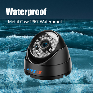 Image 3 - BESDER geniş açı 2.8mm Vandal geçirmez 1080P IP kamera Dome su geçirmez 48 adet IR LED kapalı açık ağ IP kamera IR kesim ONVIF