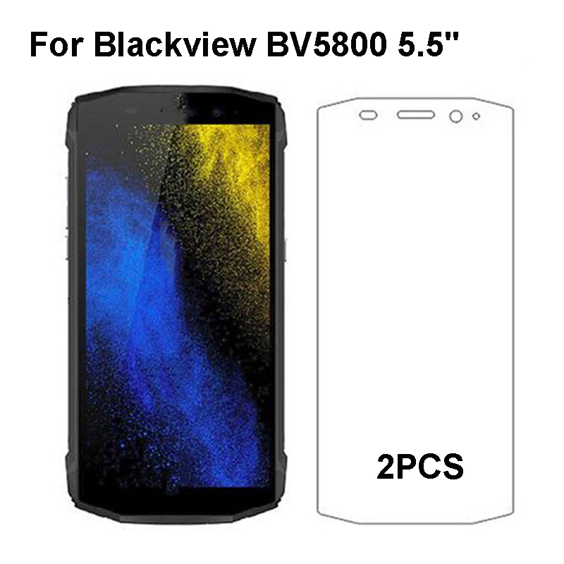 2PCS Blackview BV5800 Tempered Glass 9H High Quality Protective Film Explosion-proof Screen Protector For Blackview BV5800