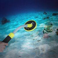 98ft водоотталкивающий контактный указатель Импульсной Индукции металлоискатель сокровище золото охотничий инструмент для раскопок светод...