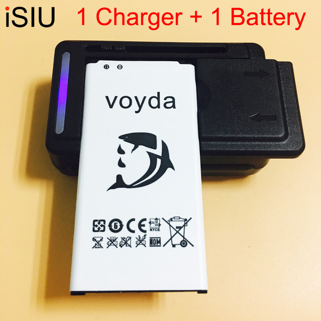 1 USB Charger + 1 Battery For Samsung GALAXY S5 Battery Mobile Phone S 5 GT i9600 SM-G900 i9605 SM-G900F Galaxy S5 EB-BG900BBC