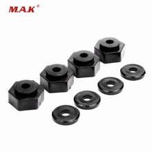 1/10 RC Short Course Truck Tyre Tires 17mm to 12mm Hex Adapter wheel hex hub adapter 12mm to 17mm conversion adapter extension 30mm for 1 10