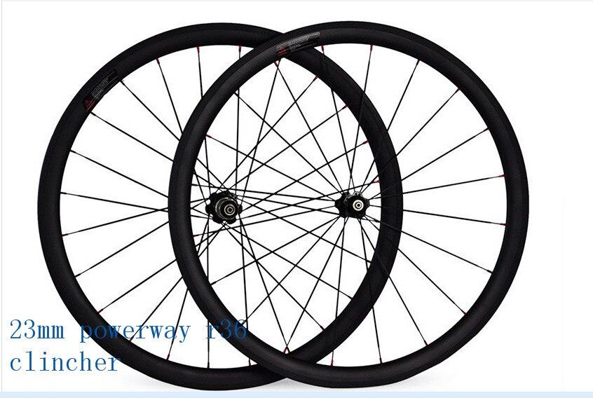 free shipping carbo wheels 38mm UD matte poweway R36 ceramics clincher wheel width 23mm road bicycle wheels 700C bicycle wheel фильтр korting kit kap 800 carbo