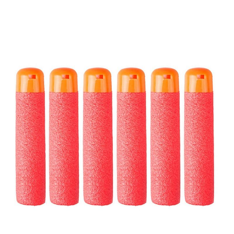 30Pcs 9.5cm Red Sniper Rifle Darts Bullets for Nerf Mega Kids Toy Gun Foam Refill Darts Big Hole Head Bullets Christmas Gift