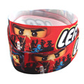 5Yards/lot 22mm Wide LEGO Cartoon Grosgrain Ribbon Wholesale DIY Ribbon Kids Clothes Hairbows Accessories