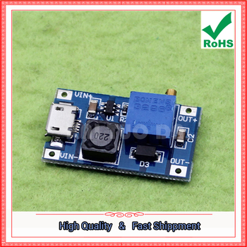 2a Boost DC-DC step up Booster Module Wide Input 2V / 24V to 5V/9V/12V / 25V Adjustable converter power supply board image