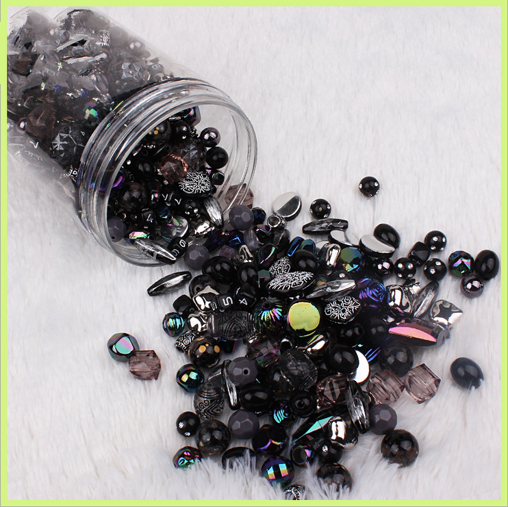 Новинка 20 г акриловые бусины смешанные бусины стиль для DIY ювелирные изделия браслеты ручной работы изготовление аксессуаров