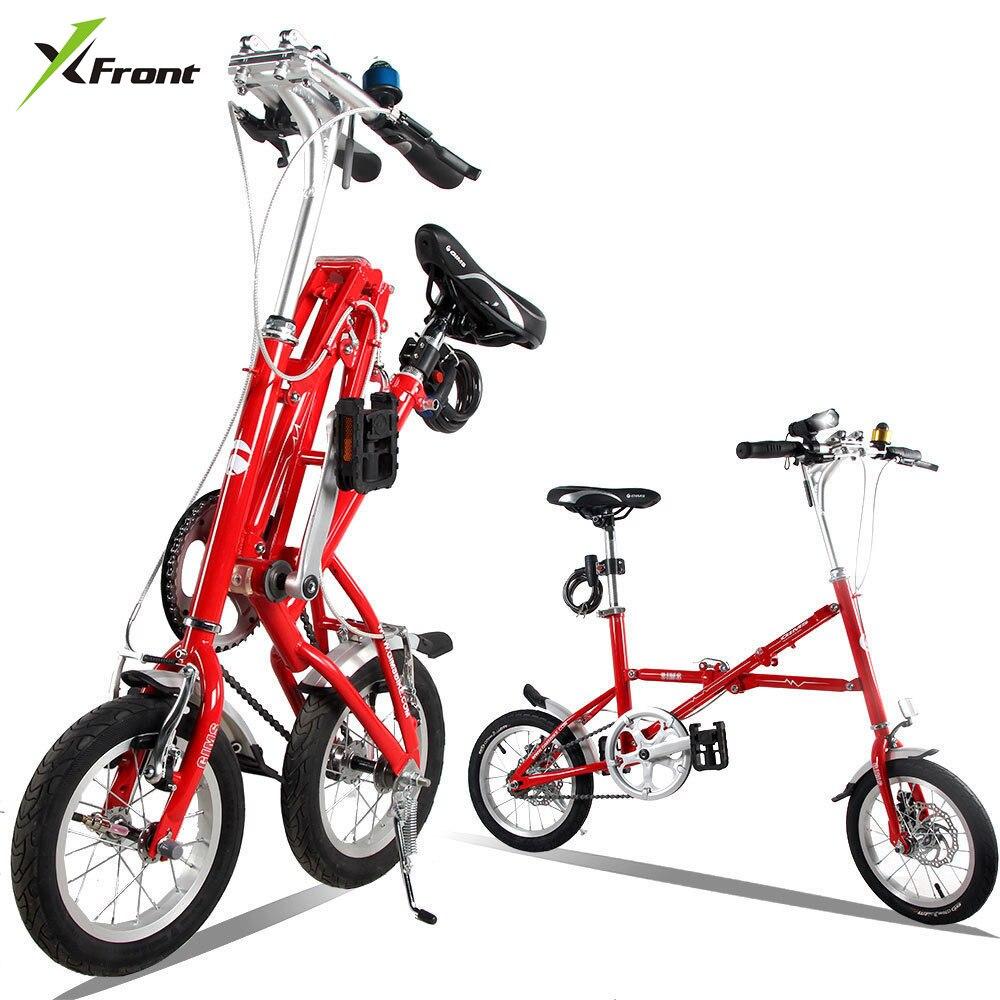 New Brand 12/14 Inch Carbon Steel Fast Folding Bike Road Bicicleta Quality Children Mini Bicycle