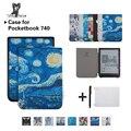 Смешанный шелкография чехол для PocketBook 740 7,8 дюймов InkPad 3 E-Book Авто/Пробуждение планшет чехол + подарки - фото
