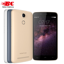 2016 Original HOMTOM HT17 PRO 4G LTE smartphone Android 6.0 MTK6737 quad core 2GB+16GB 5MP 13MP fingerprint ID 5.5″ HD Cellphone