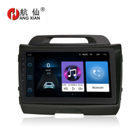 Повесить XIAN 9 Quadcore Android 8,1 радио автомобиль KIA SPORTAGE R 2010 2011 dvd плеер автомобиля gps навигации мультимедиа