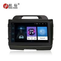 HANG XIAN 9 Quadcore Android 8.1 Car radio for KIA SPORTAGE R 2010 2011 car dvd player GPS navigation car multimedia