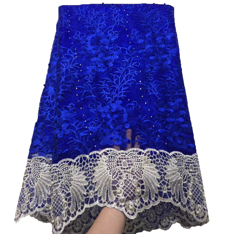 Hot Sale African Cord Lace Fabric High Quality Nigerian Laces Fabrics Latest Design French Mesh Lace