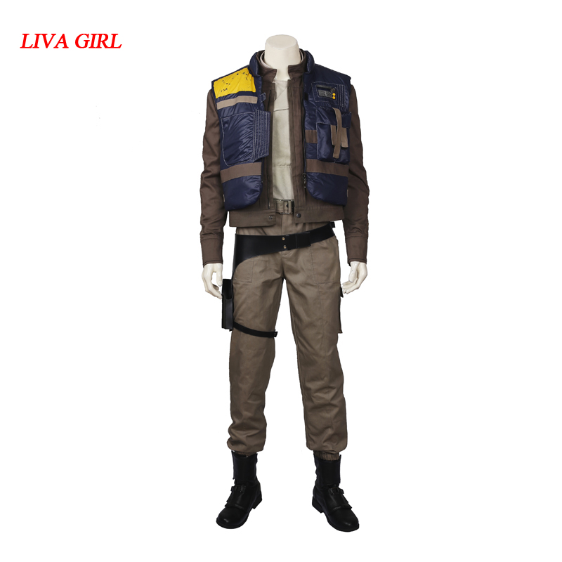 Rogue One: A Star Wars Story Cassian Andor Cosplay Costume Halloween Costumes adult men Cassian Andor costume custom made