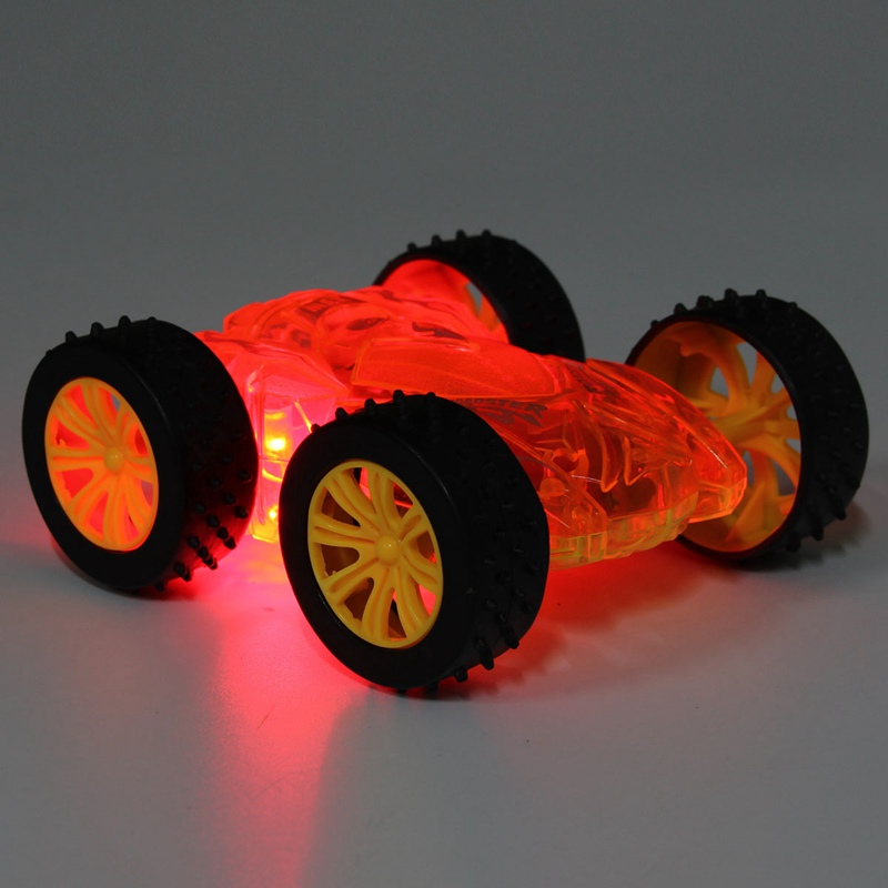 efhh luminous two sided car kids toy childrens best gift diecast model cars