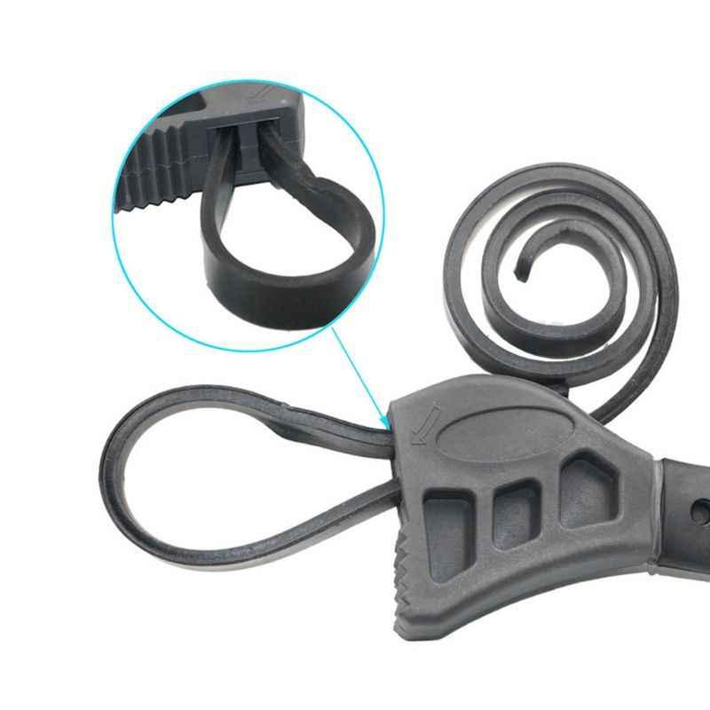 50cm wielofunkcyjny klucz do paska regulowany otwieracz do butelek automatyczny filtr oleju Spanner