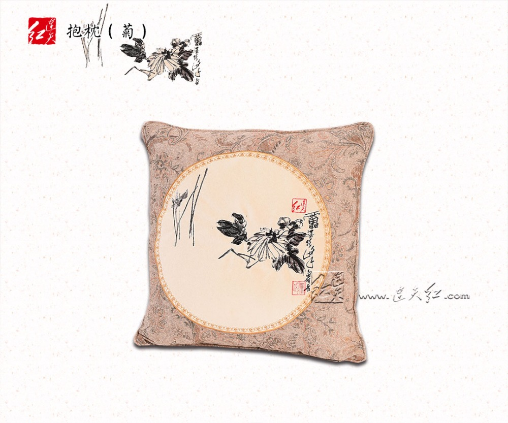Decorative Pillow home Sofa Chair seat Back Cushions Car coffee Library Living Room Bed Theme Bar Pillow Embroidered New Fashion