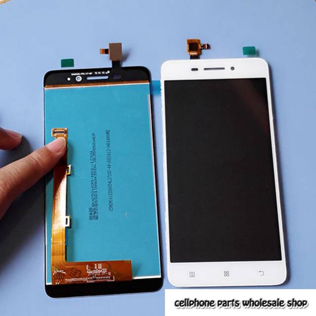 b3f92ae11153e7 For Lenovo S60 S60W S60A S60-A Lcd Display Screen+Touch Digitizer Glass Assembly  Replacement parts