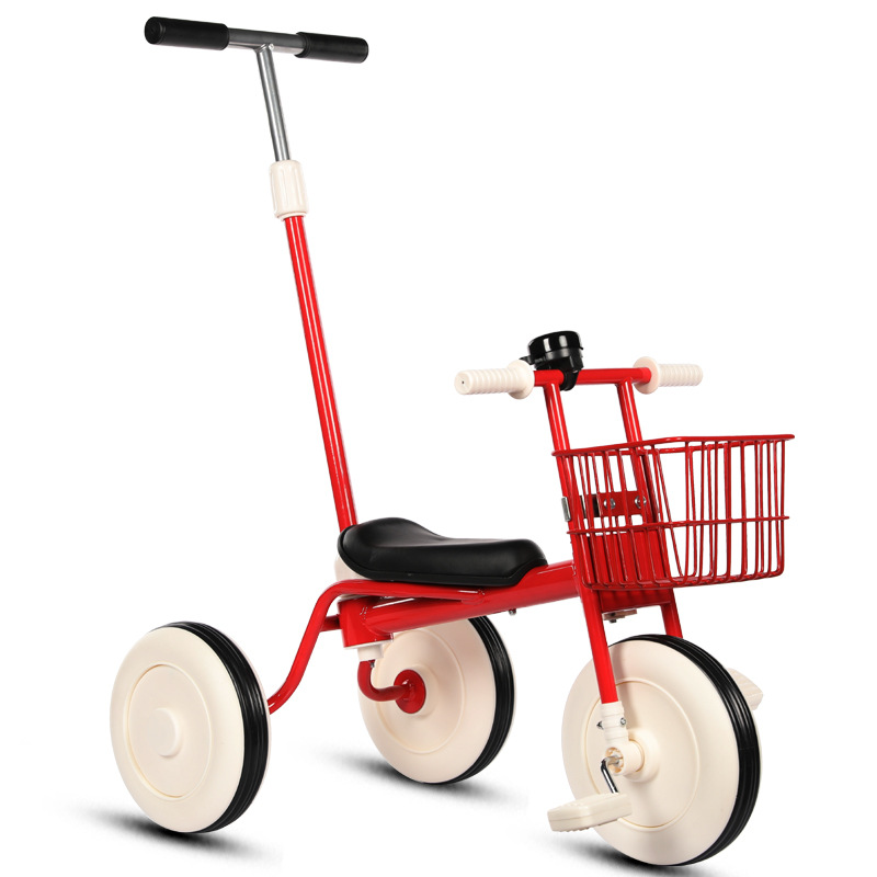 2 In 1 Children Tricycle Bike Baby Cart 3 Wheels Bicycle Child