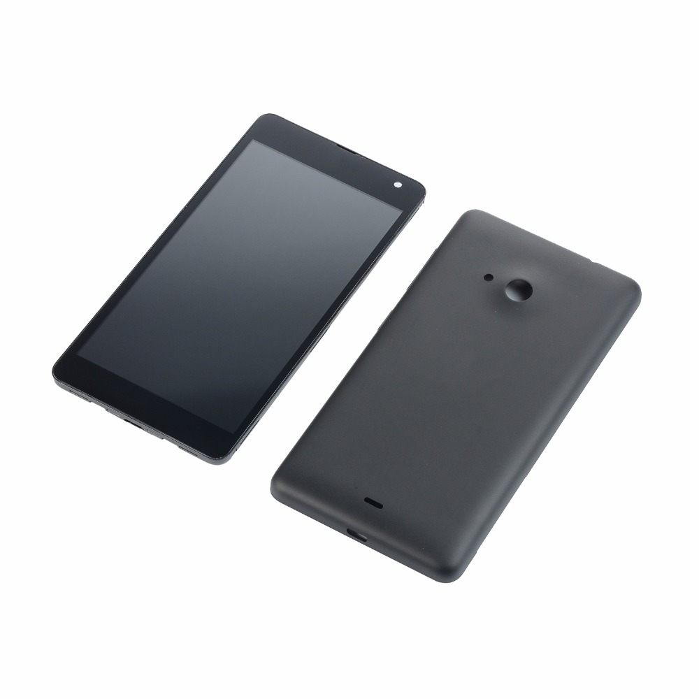 Original For <font><b>Nokia</b></font> Lumia 535 N535 CT2S1973 CT2C1607 LCD Display Touch Screen Digitizer+<font><b>Battery</b></font> Back <font><b>Cover</b></font>+Power Volume Buttons image